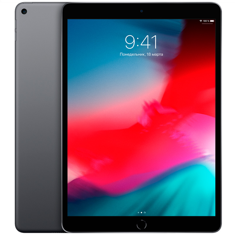 "Планшет Apple iPad Air 10.5"" 2019 Wi-Fi 256Gb Space Gray"