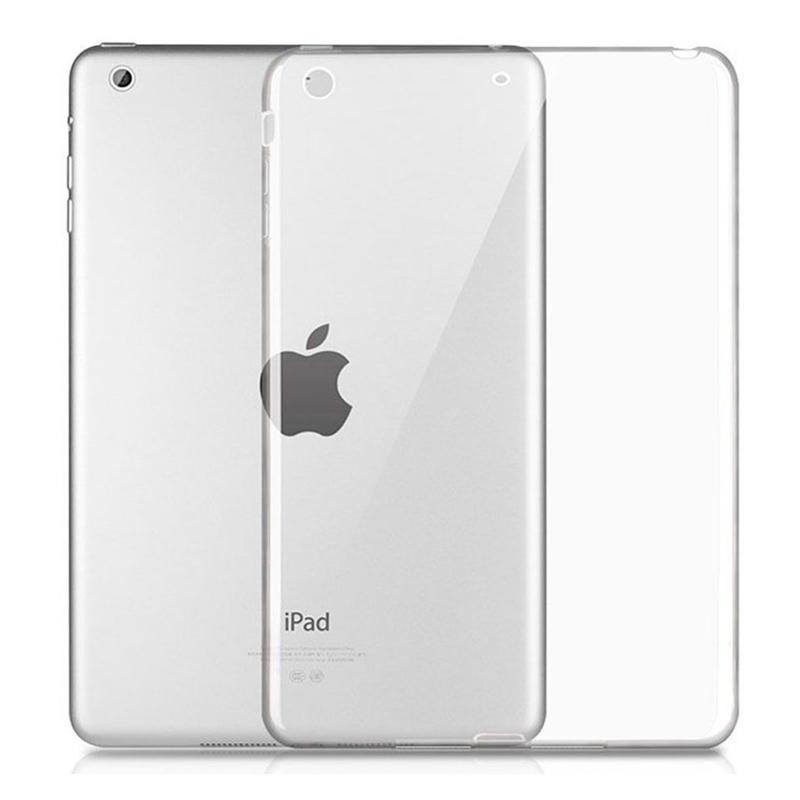 Чехол-накладка для iPad Pro 9,7 силиконовый (серебристая рамка)