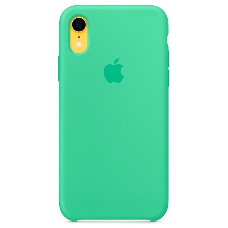 Силиконовый чехол для iPhone Xr, «нежная мята»
