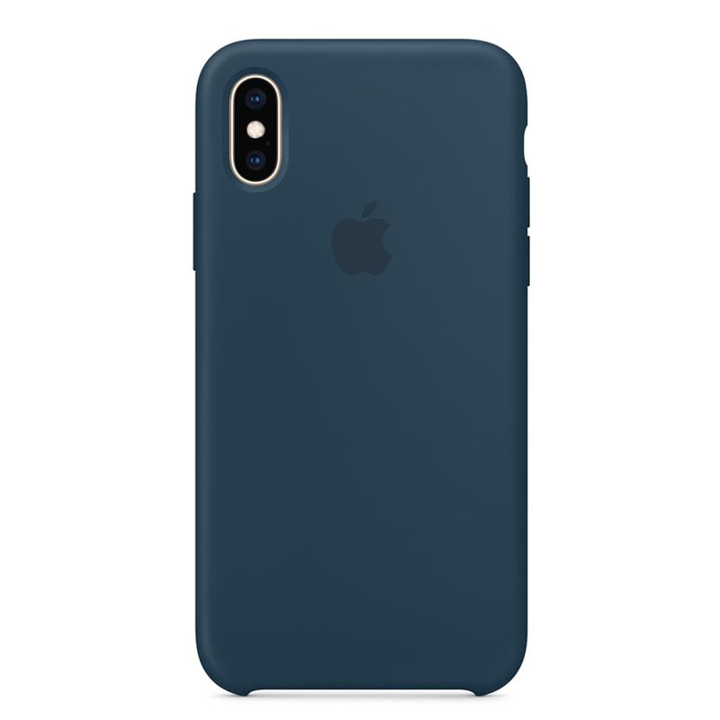 Силиконовый чехол для iPhone Xs, «тихий океан»