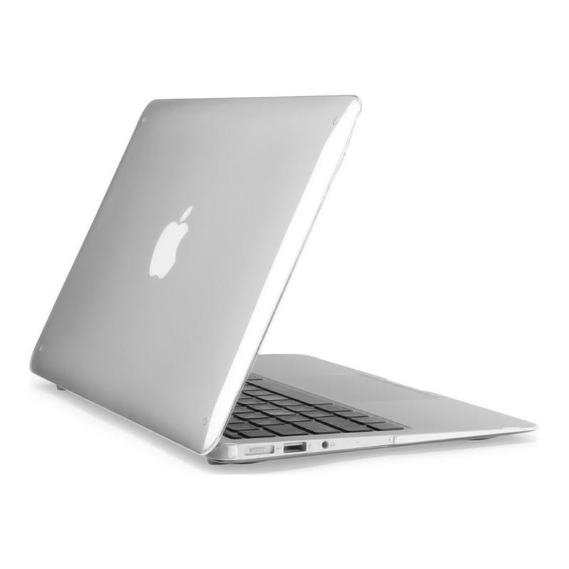 """Чехол-накладка пластик глянцевый для MacBook Air 11"""" прозрачный"""