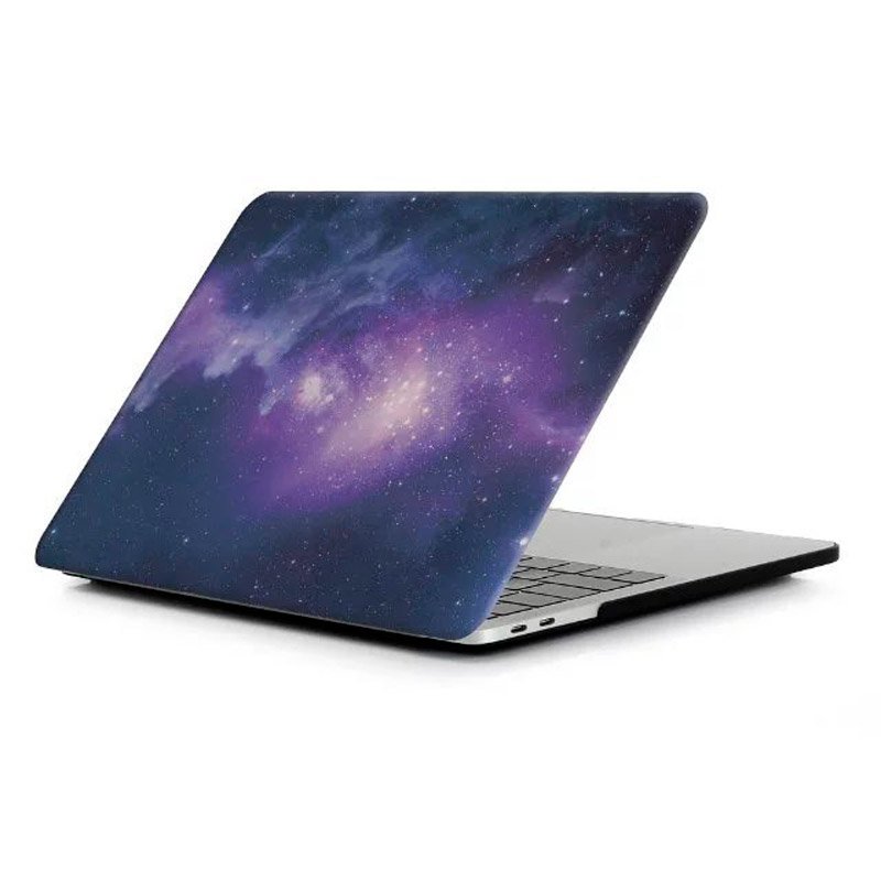 """Чехол-накладка пластиковый для MacBook Pro 13"""" космос"""