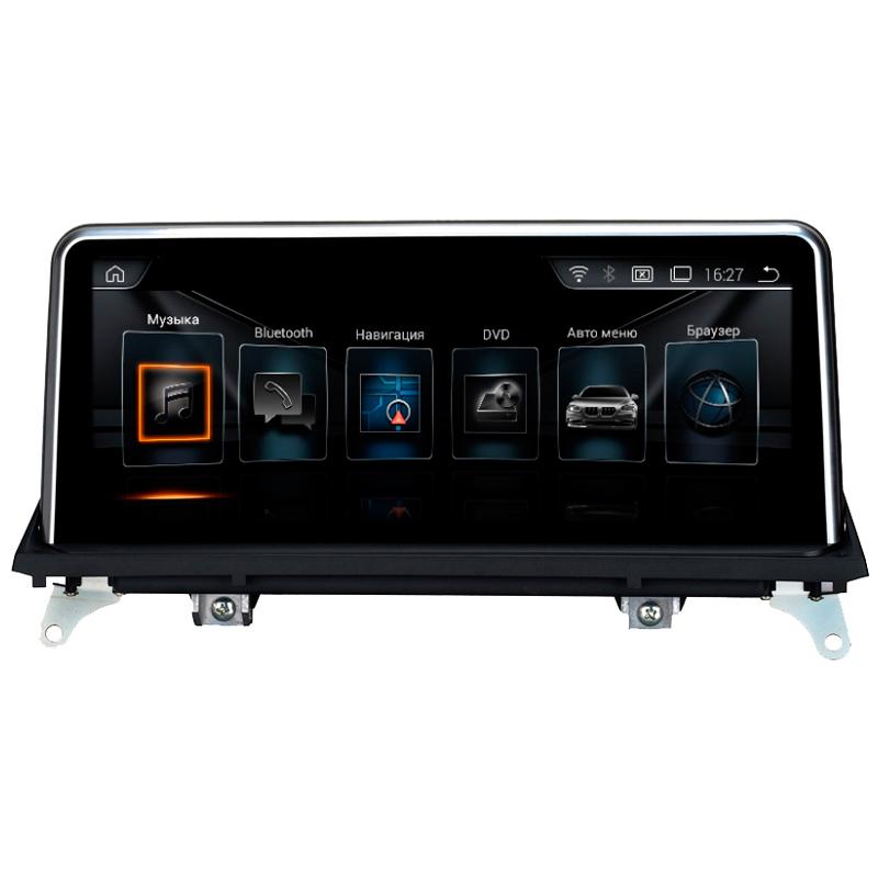 Штатное головное устройство BMW X5 E70(2010-2013)/X6 E71(2012-2014) CIC, Android