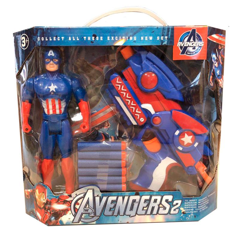 """Игрушка-пистолет """"Мстители 2"""" """"Капитан Америка"""""""