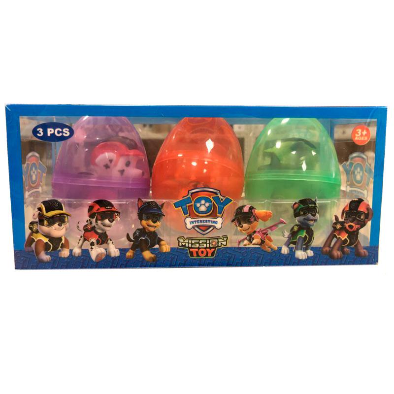 """Щенячий патруль """"Mission Toy"""" в яйце (3 шт.)"""