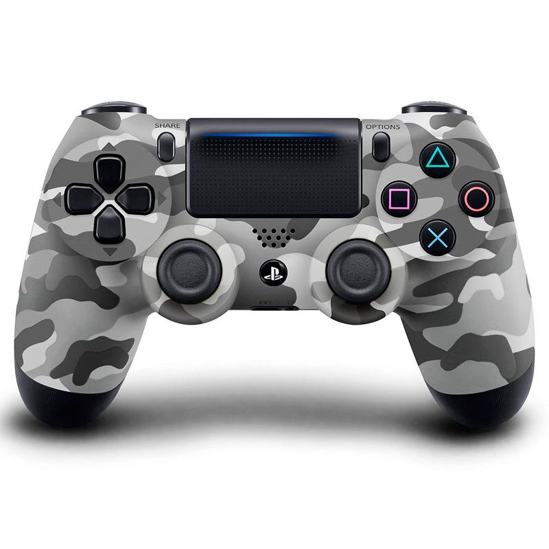 Игровой контроллер Dualshock 4 v2 для PS4, серый хаки