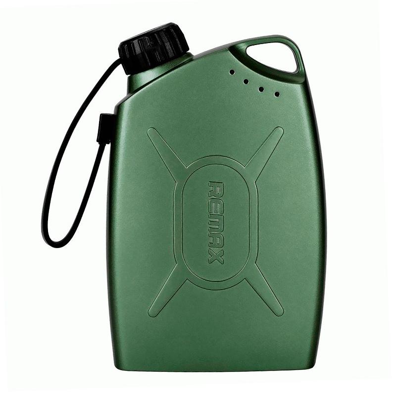 Внешний аккумулятор Remax Oil Drum Power Bank 6000 mAh, зеленый