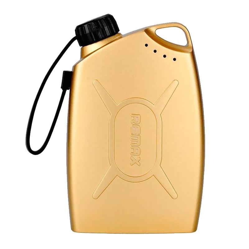 Внешний аккумулятор Remax Oil Drum Power Bank 6000 mAh, золотой