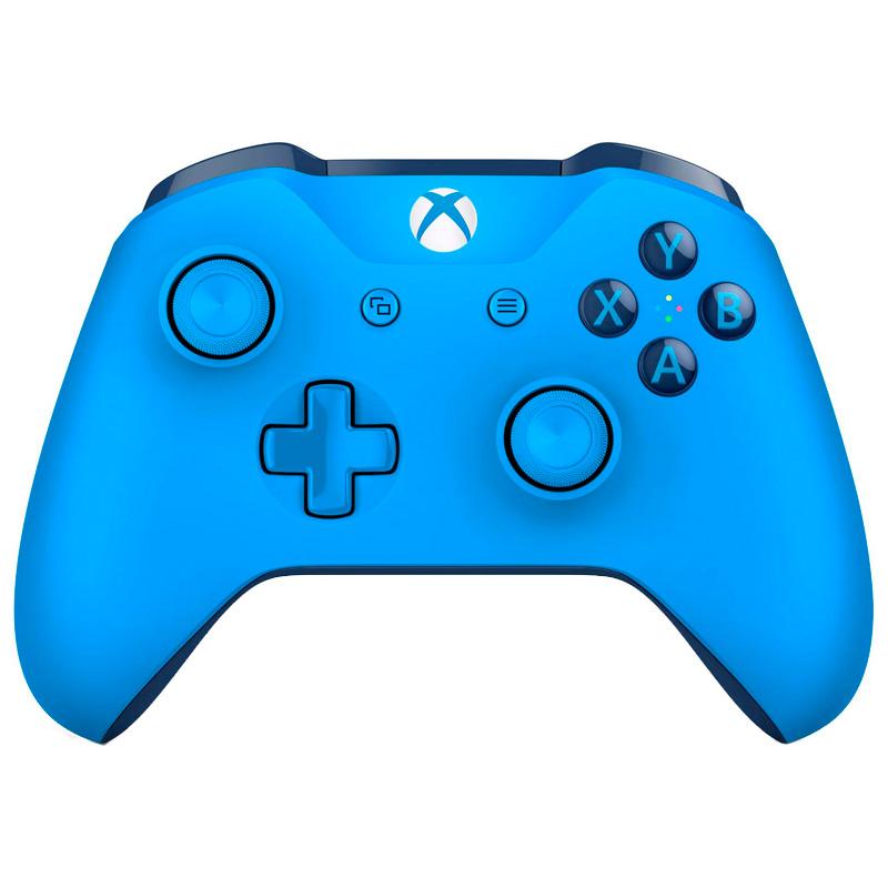 Игровой контроллер XBox One оригинал, синий