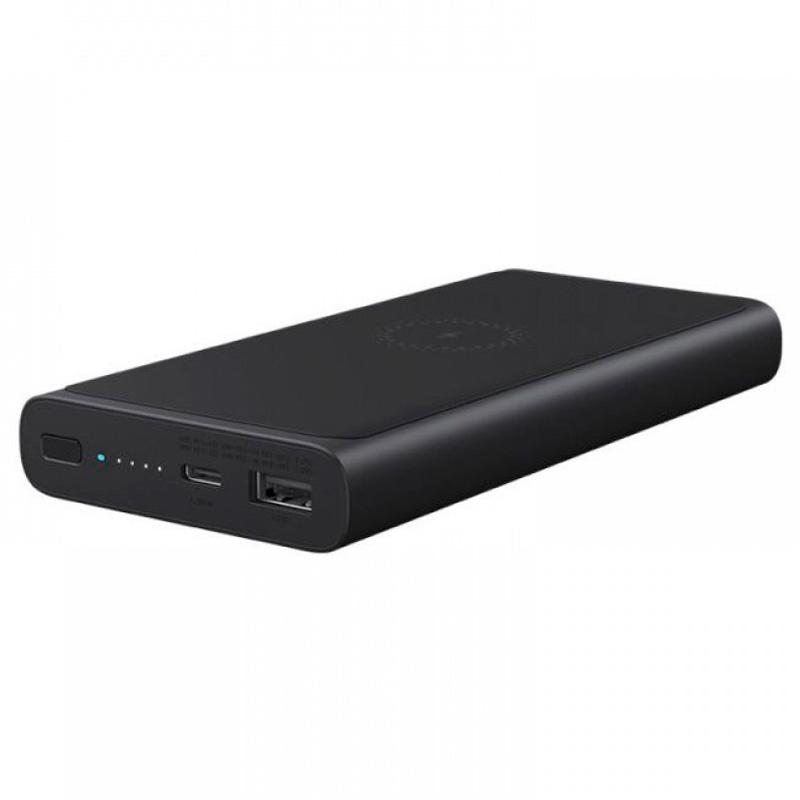 Внешний аккумулятор с беспроводной зарядкой Xiaomi Power Bank Mi Wireless Charger 10000 mAh