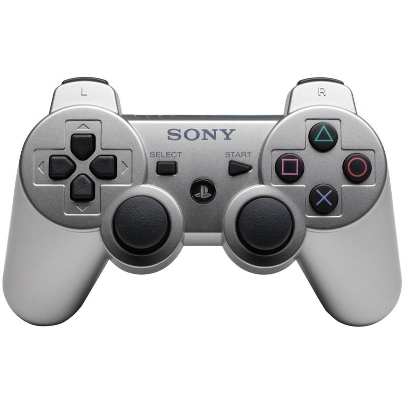 Игровой контроллер Dualshock 3 для PS3 серебряный