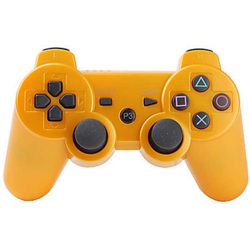 Игровой контроллер Dualshock 3 для PS3 оранжевый
