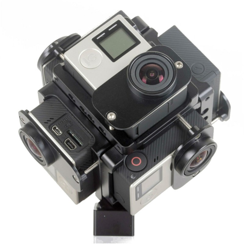 Кронштейн для съемки 360-градусного видео под GoPro