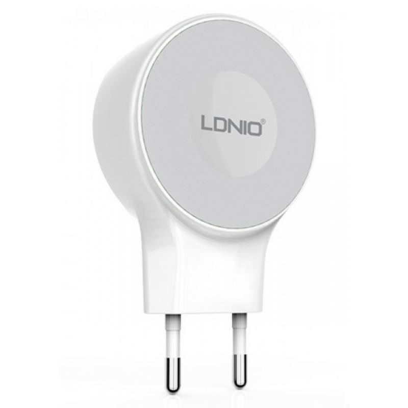 Зарядное устройство LDNIO A2269 microUSB
