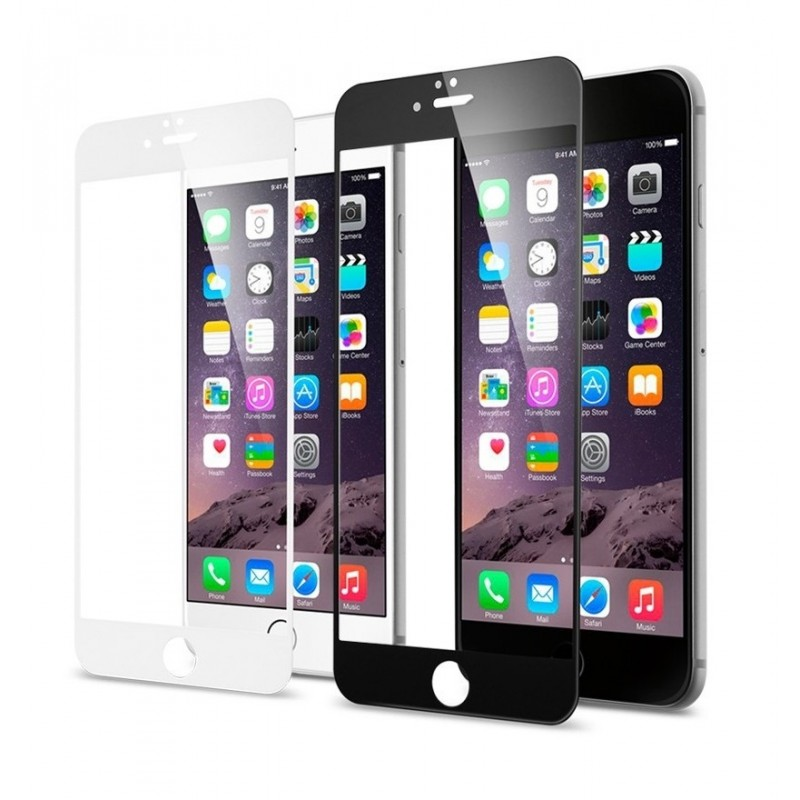 Стекло-рамка защитное Modena для iPhone 6/6s