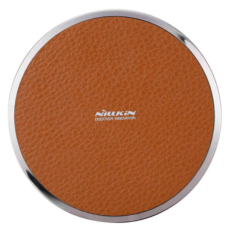 Зарядное устройство беспроводное Nillkin Magic Disk III, коричневое