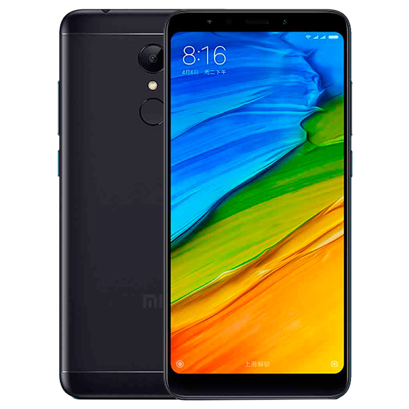 Смартфон Xiaomi Redmi 5 16Gb Black Global Version