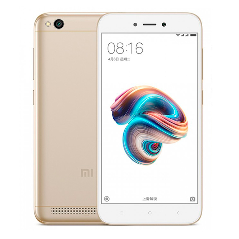 Смартфон Xiaomi Redmi 5A 16Gb/2Gb Gold