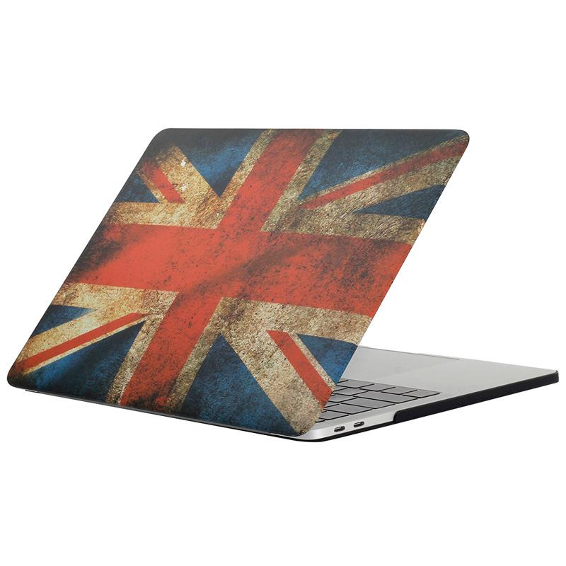 """Чехол-накладка пластиковый для MacBook Pro 15"""" Британский флаг"""