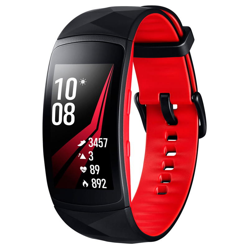 Фитнес-браслет Samsung Gear Fit2 Pro Red Large Size