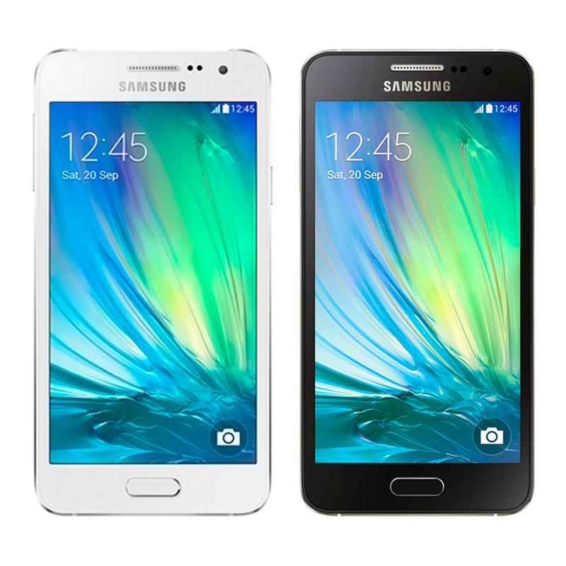 Samsung Galaxy A3 Black / White Demo (A300)