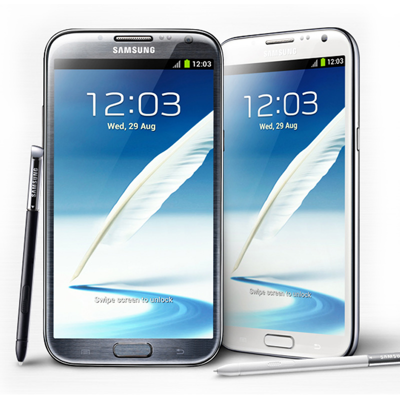 Samsung Galaxy Note 2 Black/White Demo (N7100)