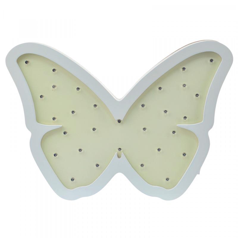 Детский ночник Yellow Butterfly Бабочка, желтая