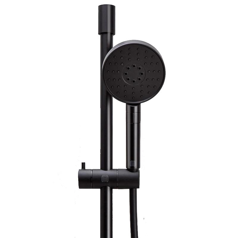 Душевой комплект (лейка+шланг+стойка) Xiaomi DIIIB Blacksmith Shower Hose Lifting Rod Set, черный