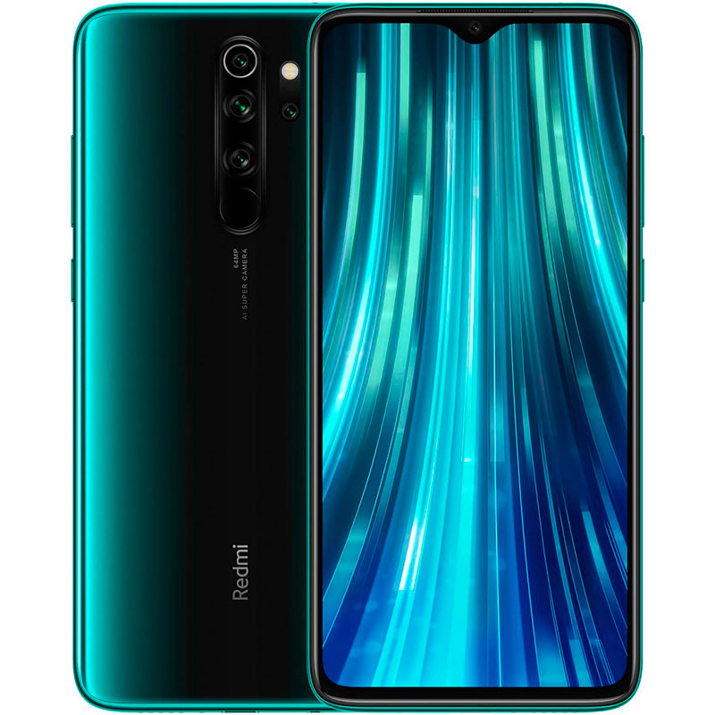 Смартфон Xiaomi Redmi Note 8 Pro 128Gb/6Gb Forest Green
