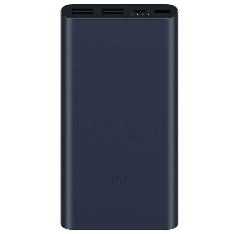 Внешний аккумулятор Xiaomi Power Bank 2S 10000 mAh, 2 USB, темно-синий