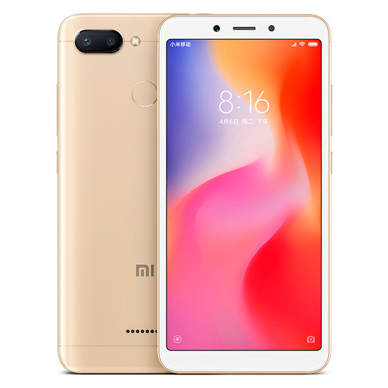 Смартфон Xiaomi Redmi 6 32Gb/3Gb Gold Global Version