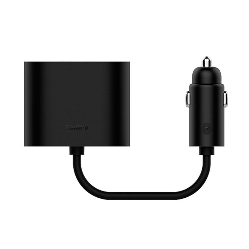 Разветвитель АЗУ Xiaomi Mi Roidmi Dual Port Converter, черный