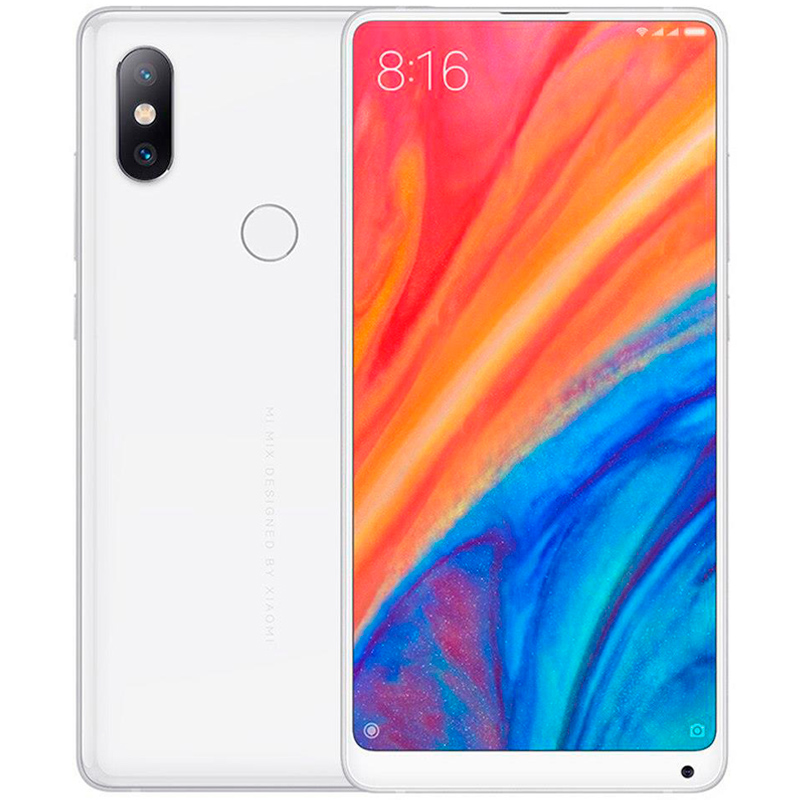 Смартфон Xiaomi Mi MIX 2s 128Gb/6Gb White Global Version