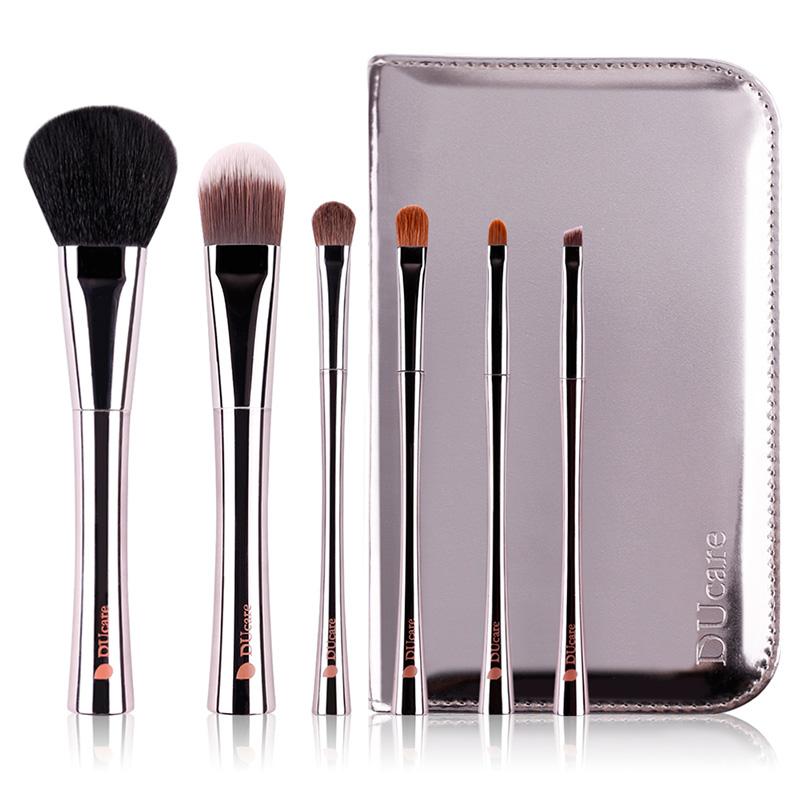 Набор кисточек для макияжа Xiaomi DUcare Exquisite Makeup Brush (6 шт.)