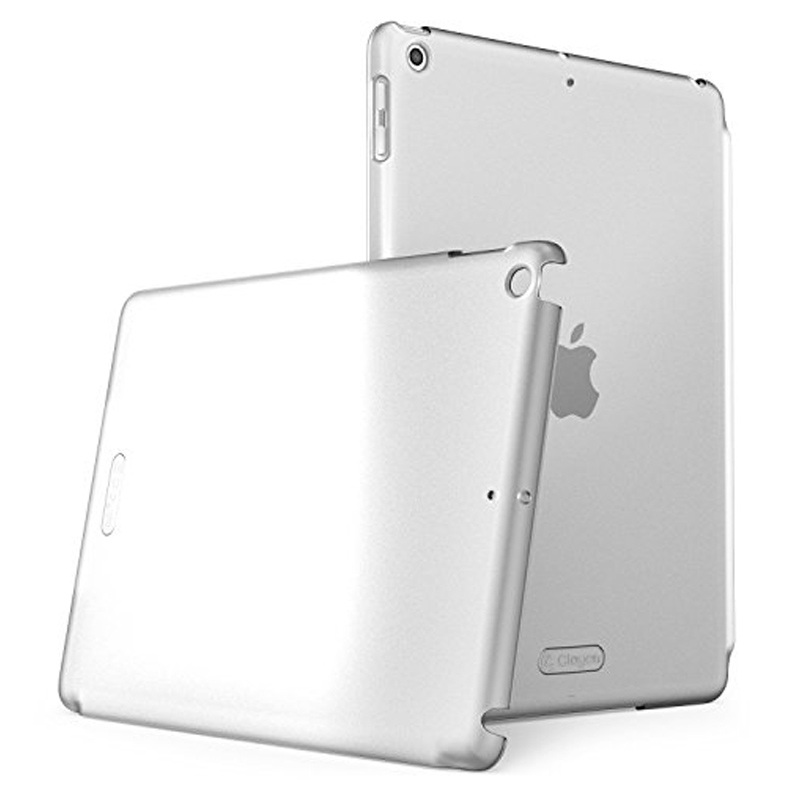 Чехол-накладка матовый пластик для iPad 9,7 (2017, 2018) прозрачный