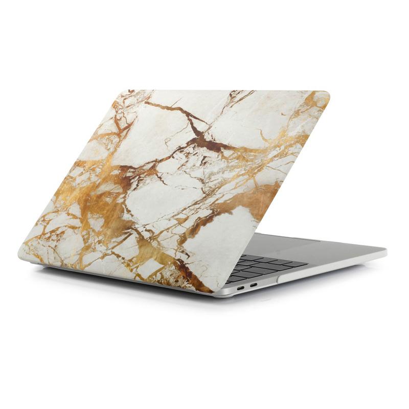 """Чехол-накладка пластиковый для MacBook Pro 13"""" мрамор"""