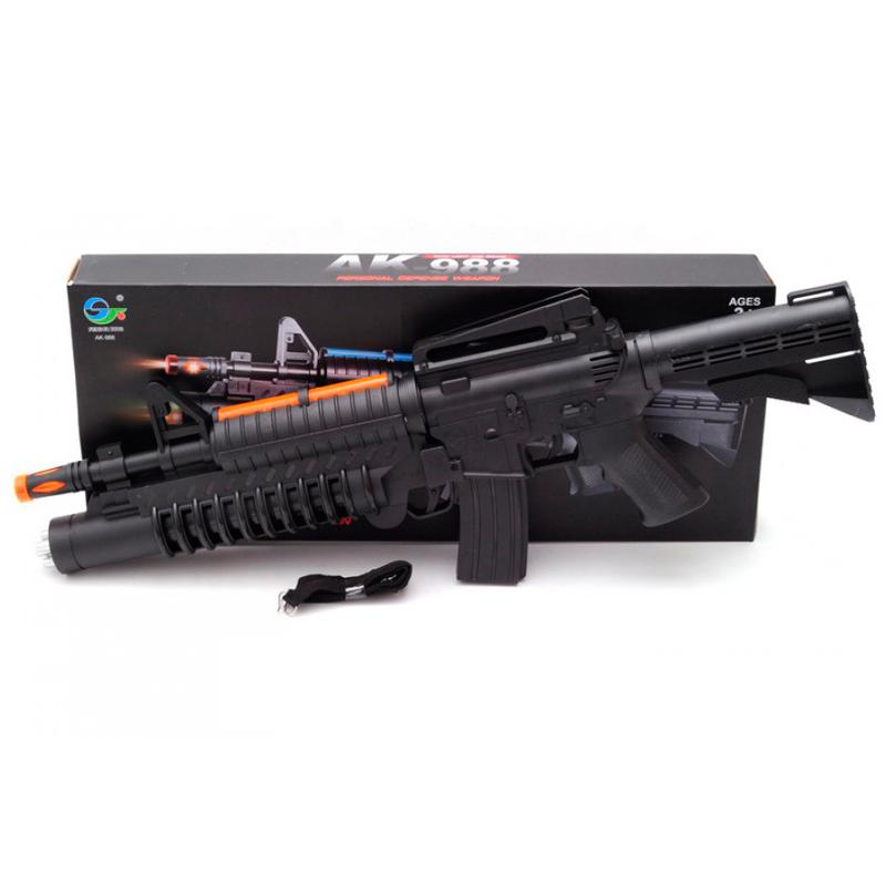 Игрушка-автомат AK-988 черный