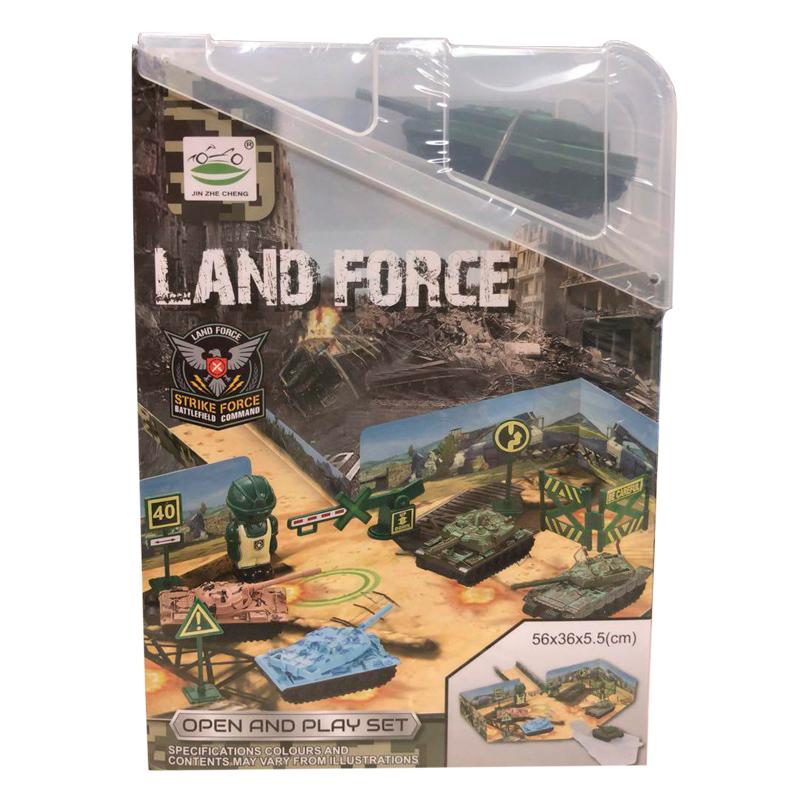 Игрушка танковый полигон Land Force