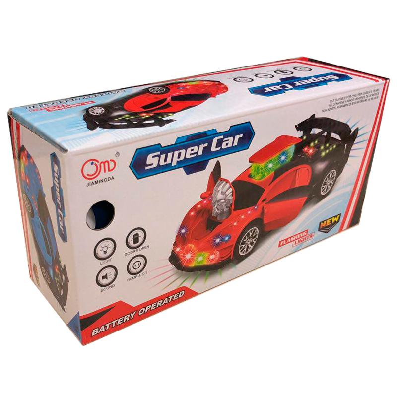 Игрушка машинка-трансформер Super Car