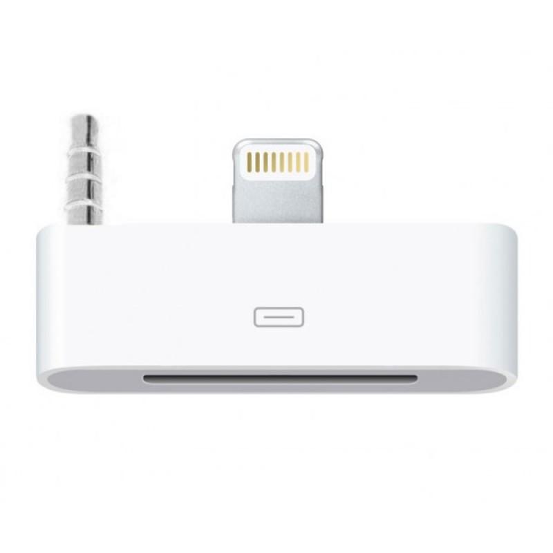 Адаптер аудио Lightning на 30-pin