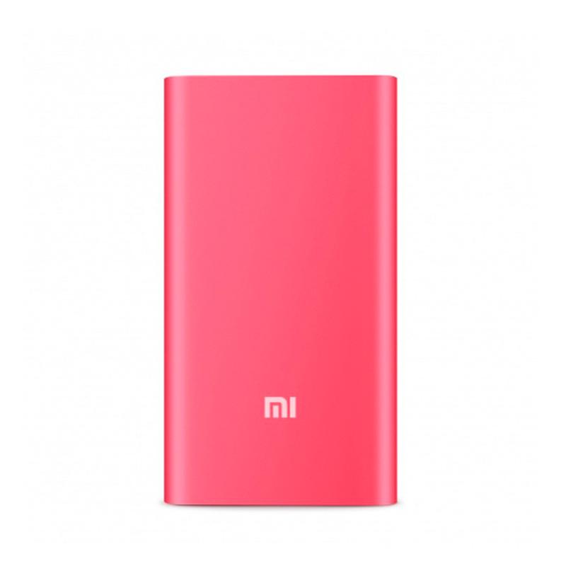 Внешний аккумулятор Xiaomi Mi Power Bank 5000 mAh, красный