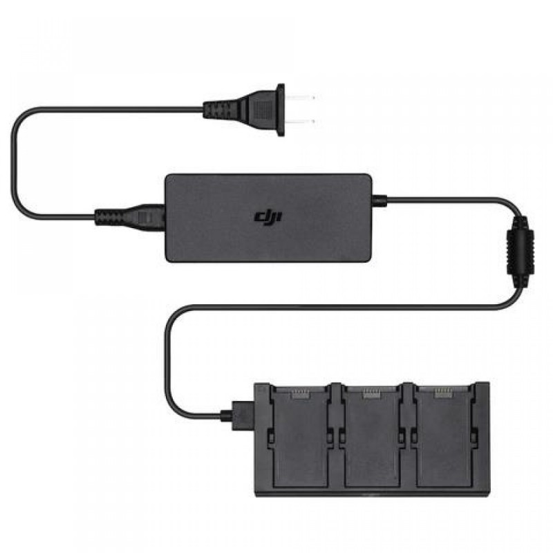 Зарядное устройство тройное для DJI SPARK Battery Charging Hub (Part5)