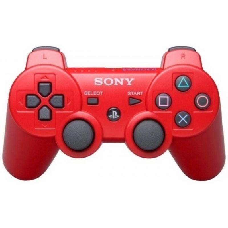 Игровой контроллер Dualshock 3 для PS3 красный