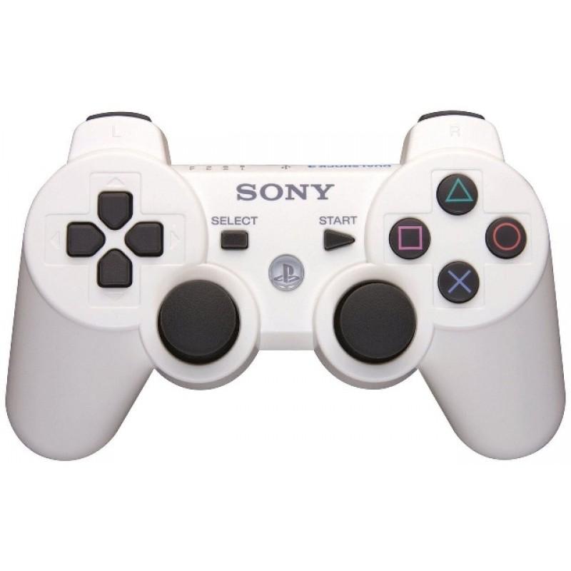 Игровой контроллер Dualshock 3 для PS3 белый