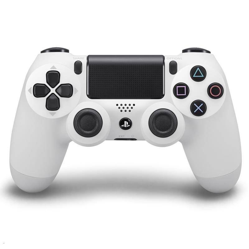 Игровой контроллер Dualshock 4 v2 для PS4, белый