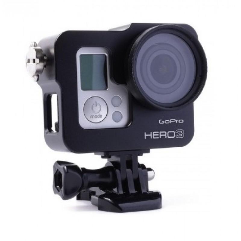 Бокс алюминиевый для GoPro Hero 3/3+