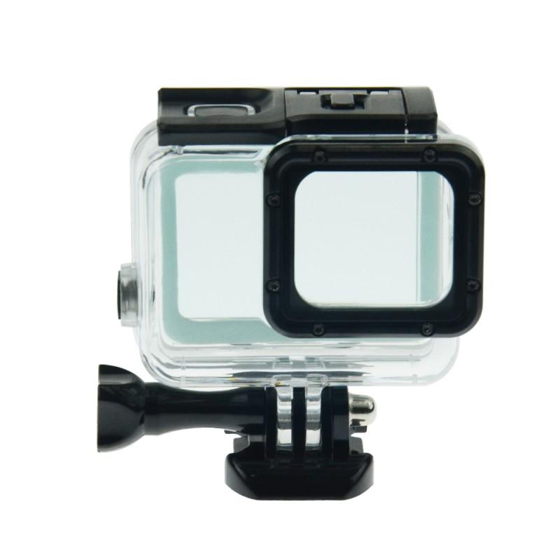 Бокс водонепроницаемый 60м для GoPro Hero 5/6 c Touch дверцей