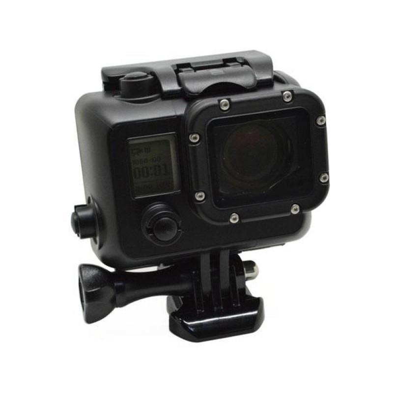 Чёрный матовый аквабокс для GoPro Hero 3