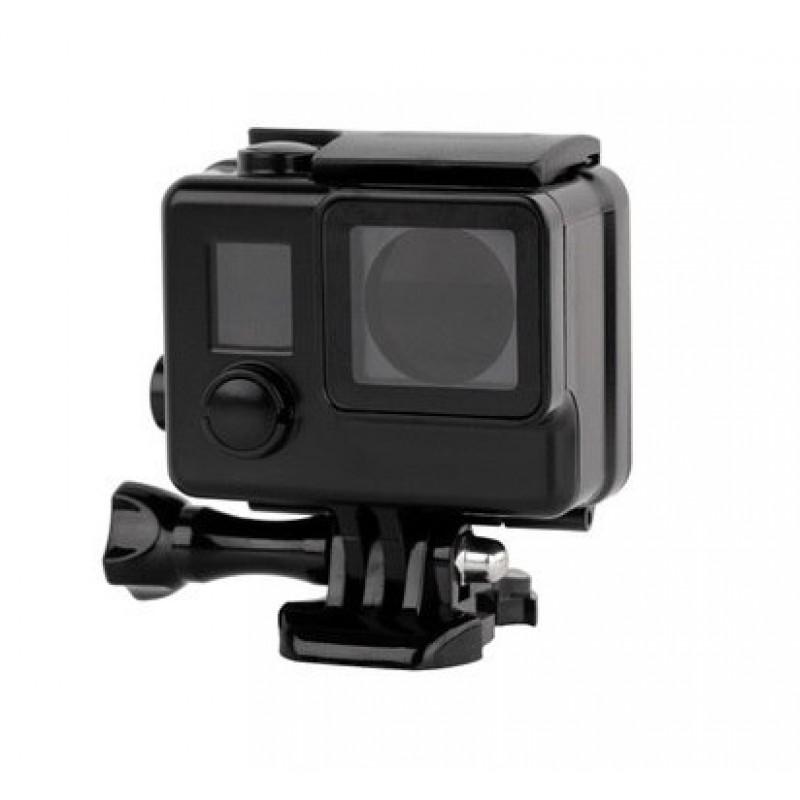 Черный матовый аквабокс для GoPro Hero 3+/4