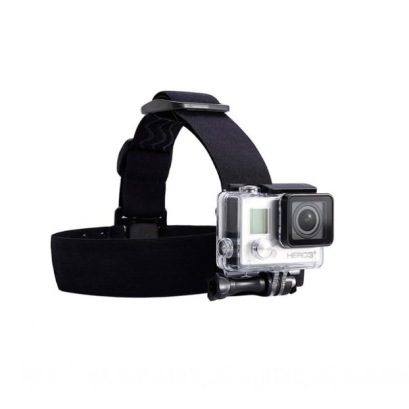 Крепление на голову нескользящее для GoPro